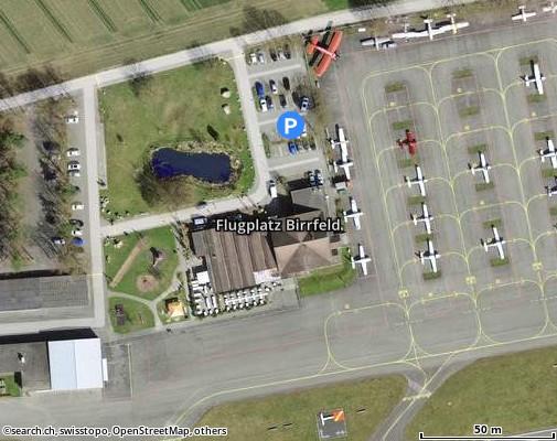 5242 Lupfig, Flugplatz Birrfeld