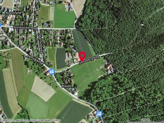 Jäissbergweg, Bellmund