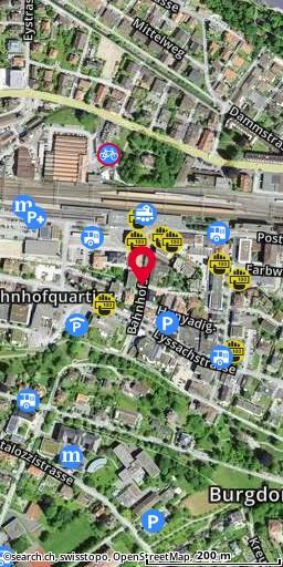 Bahnhofplatz, Burgdorf