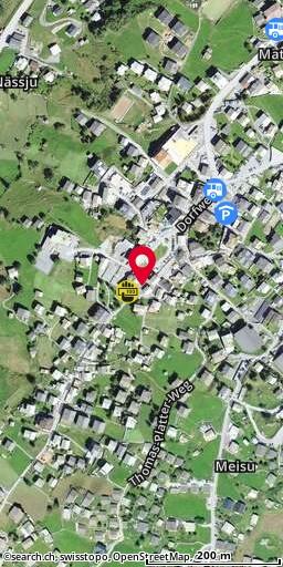 Dorfplatz, Grächen