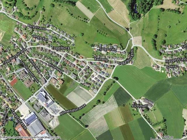 Eichmattweg, Rohrbach