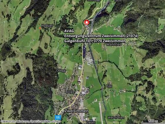 Galgenbühl-Weg, Zweisimmen