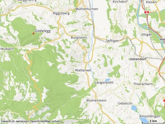 3665 Wattenwil