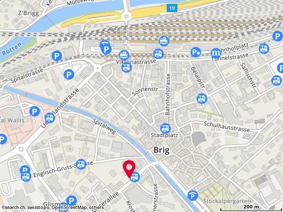 Gliserallee 4, Glis