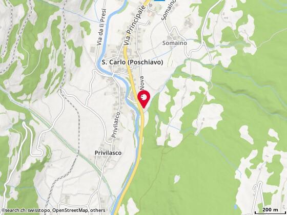 Via Principale 458a, 7741 San Carlo (Poschiavo)