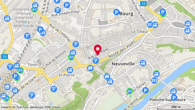Rue des Alpes 6, Fribourg