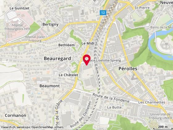 Pass. du Cardinal 1, Fribourg