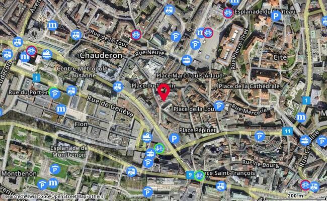Place Grand St-Jean-1 (1004 Lausanne)