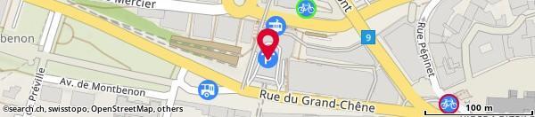 Rue du Grand-Chêne 10, Lausanne