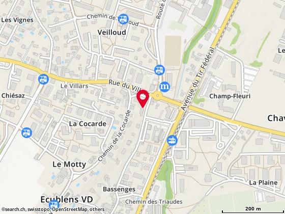 Rue de Bassenges 4, Ecublens