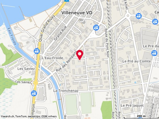 Route de Praz-Bérard 1a, Villeneuve