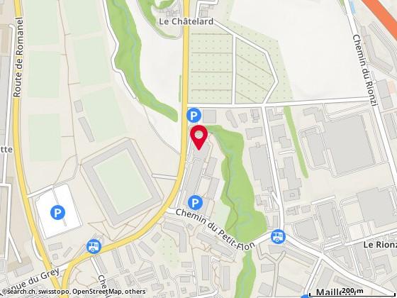 Rte du Châtelard 56, Lausanne