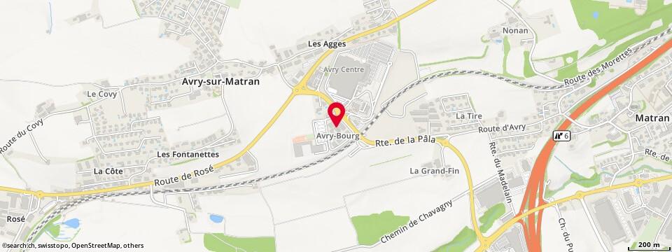 Avry-Bourg 46, Avry-sur-Matran