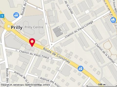 Map: Prilly, Rte de Cossonay 13