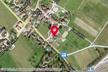 Carte: Bussy-Chardonney, Rue de la Poste 5