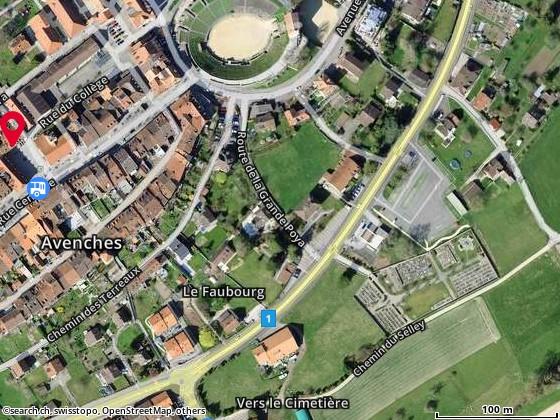 Carte: 1580 Avenches/Place de l'Eglise 3
