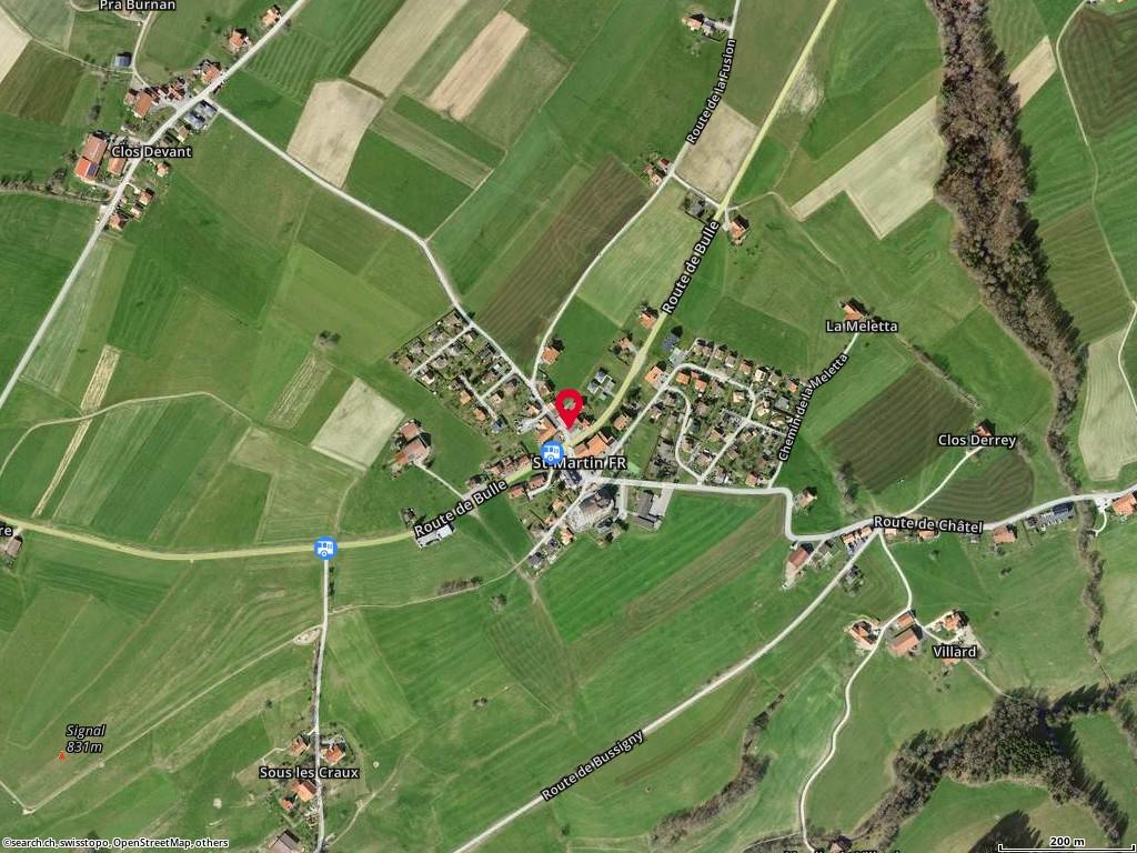 Carte: St-Martin, Rte de la Perrausa 4