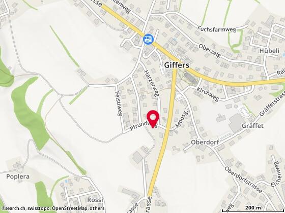 Karte: Giffers, Pfrundweg 5