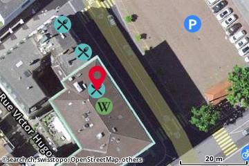Carte: Bienne, Neumarktstr. 14