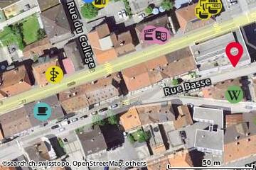 Carte: St-Imier, Rue Francillon 34