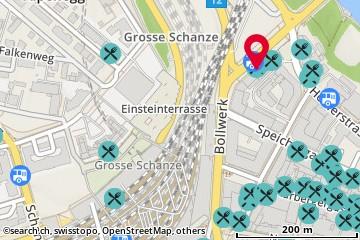 Karte: Bern, Bollwerk 35