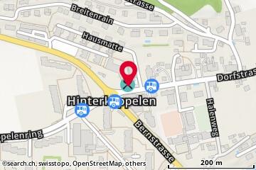 Karte: Hinterkappelen, Dorfstr. 1