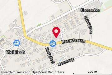 Karte: Meikirch, Bernstr. 15