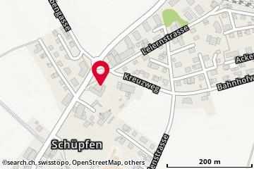 Karte: Schüpfen, Dorfstr. 1