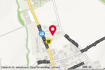 Karte: Rapperswil, Hauptstr. 27