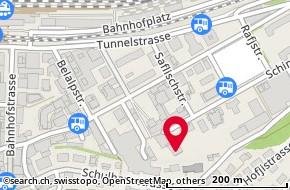 Karte: Brig, Rhonesandstr. 24