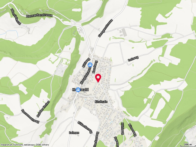 Carte: Hochwald, Baselweg 24