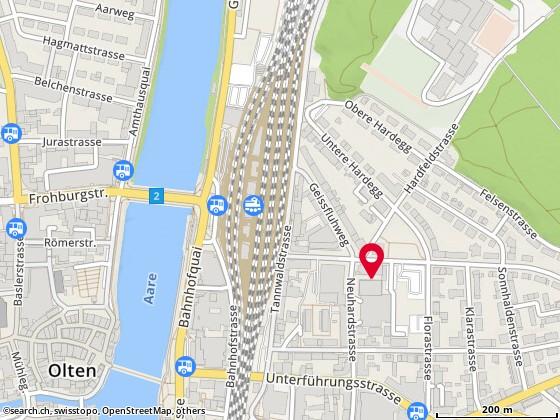Karte: Olten, Neuhardstr. 38