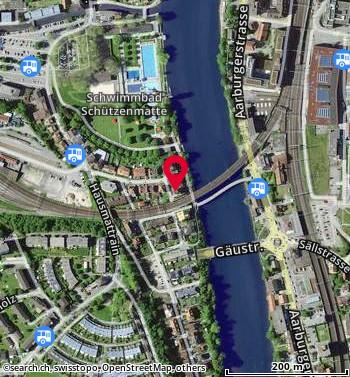 Karte: Olten, Vorderer Steinacker 31