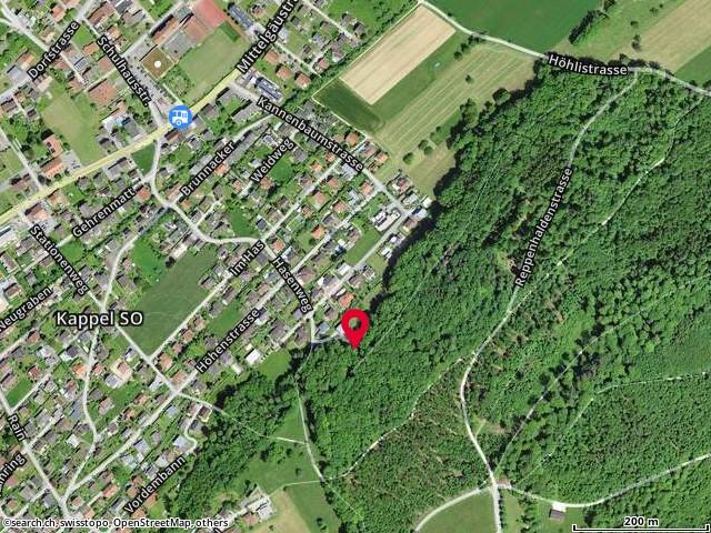 Karte: 4616 Kappel