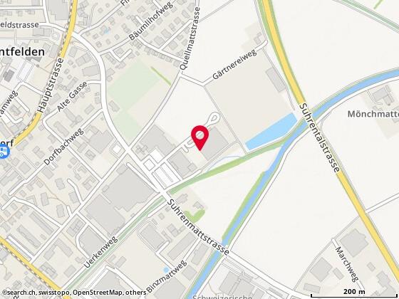 Karte: Unterentfelden, Suhrenmattstr. 29