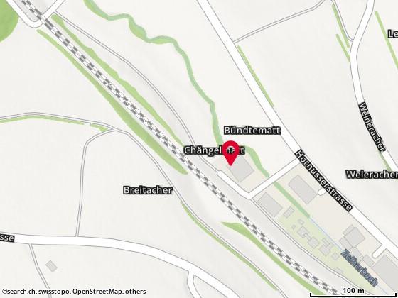Karte: Zeihen, Chängelmatt 2