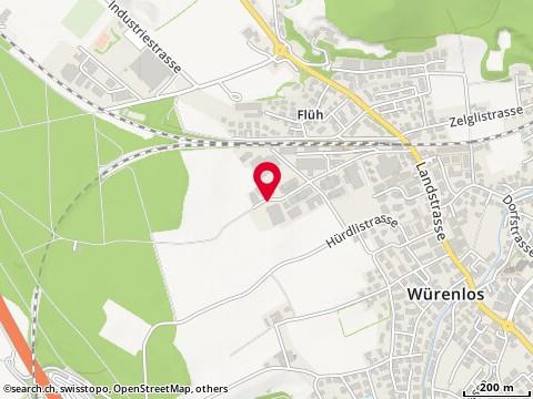 Karte: Würenlos, Grosszelgstr.