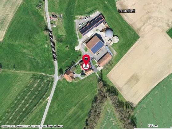 Karte: Bonjour, Olivier et Aline (-Estoppey), Seigneux, route d'Henniez 4