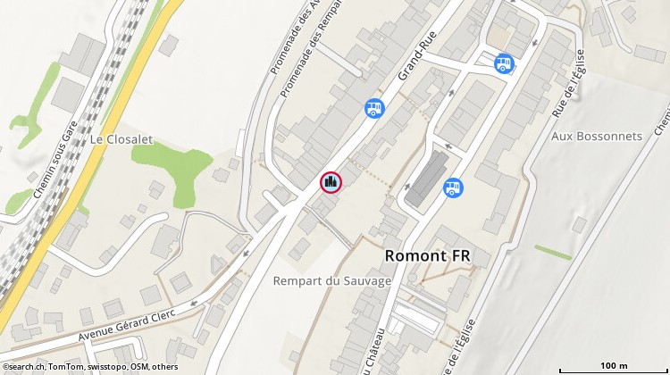 Carte: Le Falzar SA, Romont, Grand-Rue 7