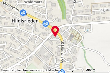 Karte: Hildisrieden, Sempacherstr. 1