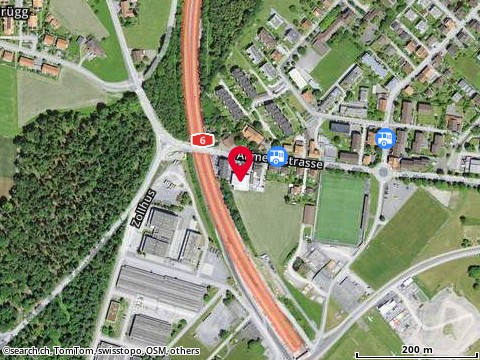 Karte: Moto Zweiacker, Thun, Allmendstr. 193A