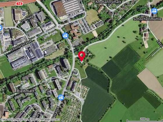 Karte: Zug, Schochenm�hlestr. 2