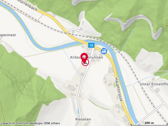 Karte: Weiss, Mirko, Trubschachen, Gummenstr. 6