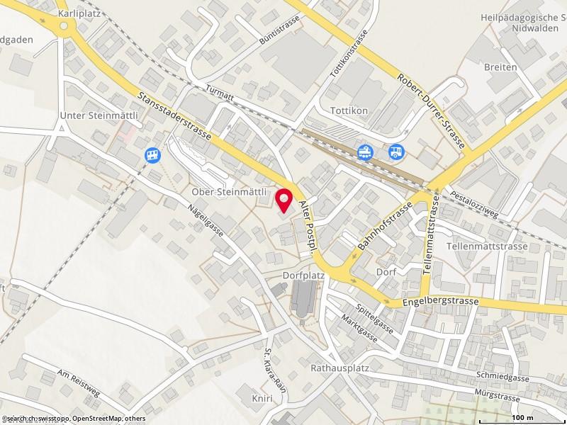 Karte: Stans, Alter Postplatz 3