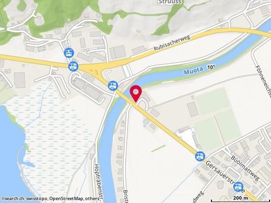 Karte: Brunnen, Gersauerstr. 62