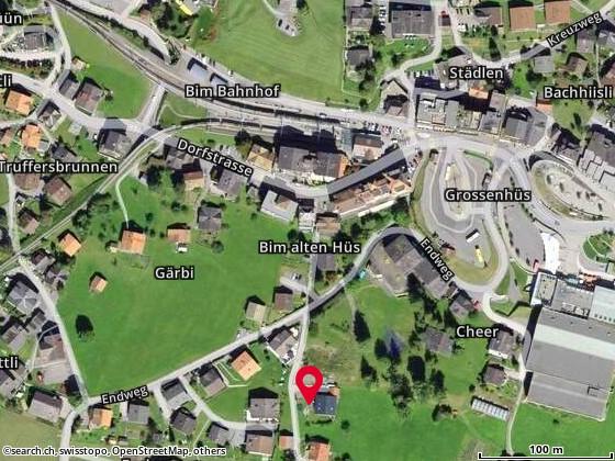 Karte: Wahli, Ueli und Rita (-Stalder), Grindelwald, Endweg 21