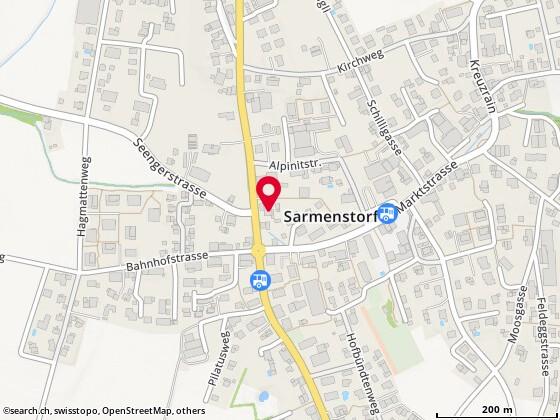 Karte: Longi Florum Meier Katharina, Sarmenstorf, Hilfikerstr. 4