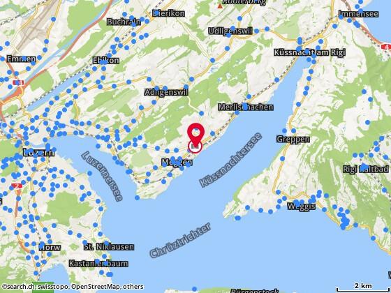 Karte: InMed GmbH, Meggen, Hauptstr. 3