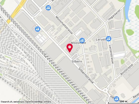 Karte: Zurgovia Clean AG, Dietikon, Silbernstr. 10
