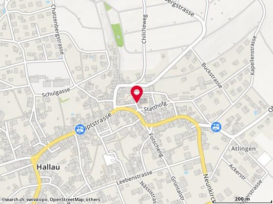 Karte: Mittagstisch, Hallau, Hammermauer 13
